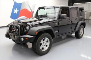2011 Jeep Wrangler RUBICON 4X4 HARD TOP NAV HTD LEATHER