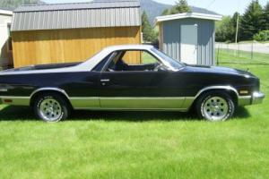 1986 Chevrolet El Camino Regular Cab 2WD