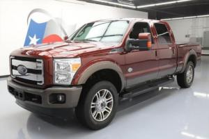 2015 Ford F-250 KING RANCH CREW 4X4 FX4 DIESEL NAV Photo