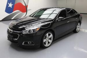 2014 Chevrolet Malibu LTZ 2LZ TURBO LEATHER NAV SUNROOF