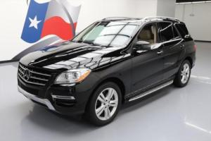 2013 Mercedes-Benz M-Class ML350 AWD P1 HTD SEATS SUNROOF NAV
