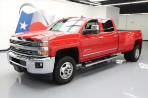 2015 Chevrolet Silverado 3500 LTZ CREW 4X4 DUALLY NAV Photo