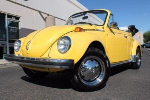 1978 Volkswagen Super Beetle Convertible --