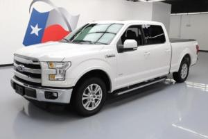 2015 Ford F-150 LARIAT CREW ECOBOOST NAV LEATHER