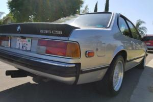 1978 BMW 6-Series 635 Photo