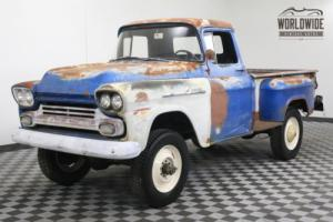1959 Chevrolet 3100 ULTRA RARE 3/4 TON NAPCO CA TRUCK V8 RARE Photo