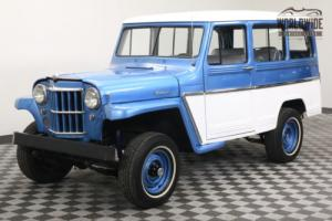 1961 Willys STATION WAGON RESTORED 4X4 SUPER HURRICANE. STUNNING