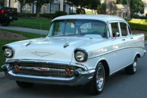 1957 Chevrolet Bel Air/150/210 RESTORED - V-8 /  4 SPEED - 2K M