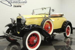 1931 Ford Modle A Deluxe Roadster