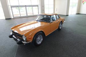 1975 Triumph TR-6 Original One Owner Convertible 2 Door