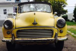 1958 Morris MINOR 1000 convertible Photo