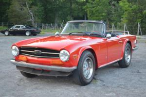 1973 Triumph TR-6 TR6 with OVERDRIVE