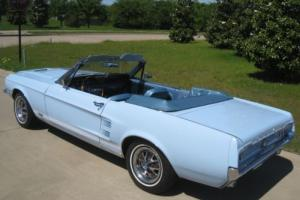 1967 Ford Mustang GTA Convertible