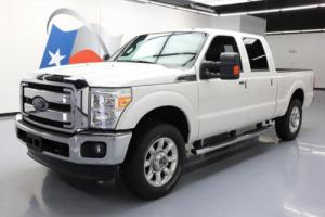 2014 Ford F-250 LARIAT CREW 4X4 6.2L V8 LEATHER 20'S