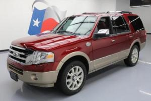 2014 Ford Expedition KING RANCH 8-PASS SUNROOF NAV