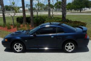 2002 Ford Mustang FL OWNED SHARP INDIGO BLUE~SUPER NICE~CLEAN