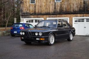 1987 BMW 5-Series Photo