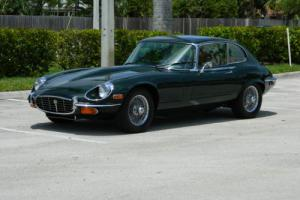 1971 Jaguar E-Type XKE V-12 2+2 SERIES III COUPE A/C AUTO WIRE WHEELS