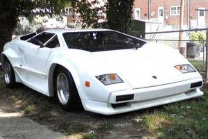1988 Replica/Kit Makes Lamborghini Countach S5000