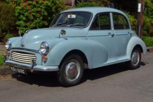 1968 Morris Minor 1000 Saloon Photo