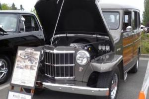 1953 Willys SRT8 Wagon Photo