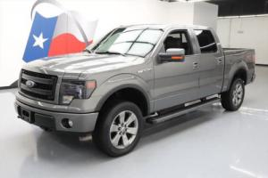 2013 Ford F-150 FX4 CREW 4X4 5.0 SUNROOF NAV 20'S