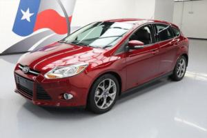 2014 Ford Focus SE HATCHBACK LEATHER ALLOY WHEELS