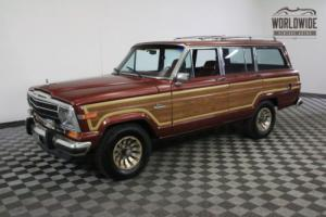 1986 Jeep Wagoneer LOW MILEAGE ORIGINAL V8 AUTO Photo