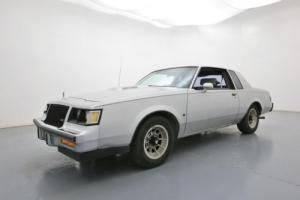 1987 Buick Grand National T TYPE
