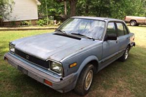 1983 Honda Civic 1500 Photo