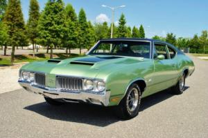 1970 Oldsmobile 442 4-Speed Factory Air #'s Matching 455 Build Sheet!