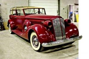 1937 Packard 1508   Convertible Sedan Photo