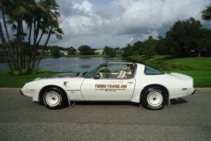 1980 Pontiac Trans Am TURBO PACE CAR