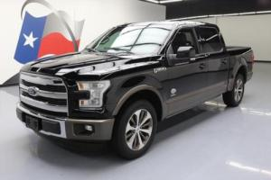 2016 Ford F-150 KING RANCH CREW ECOBOOST PRO TRAILER