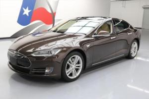 2012 Tesla Model S PANO ROOF NAV 3RD ROW 19'S