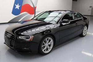 2013 Audi A5 2.0T PREMIUM COUPE AWD LEATHER SUNROOF