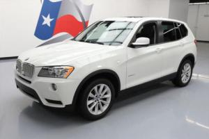 2013 BMW X3 XDRIVE28I AWD TURBO PANO SUNROOF