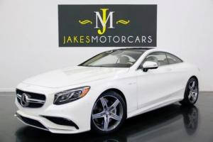 2015 Mercedes-Benz S-Class S63 AMG DESIGNO Coupe ($179K MSRP)