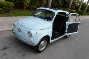 1963 Fiat 500 Trasformabile 500D SEE VIDEO!! Photo