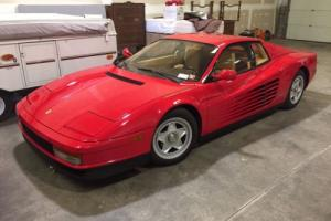 1987 Ferrari Testarossa Photo