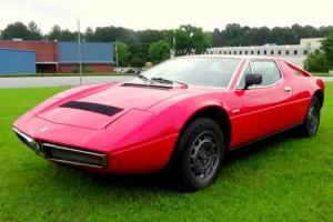 1977 Maserati Merak SS for Sale