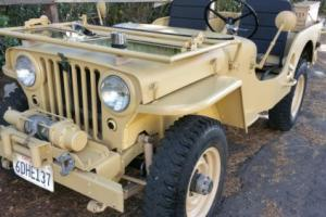 1947 Willys CJ Photo