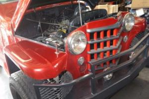 1951 Willys Pick-up Headman W W Headers Photo