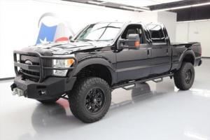 2012 Ford F-250 LARIAT CREW 4X4 FX4 DIESEL LIFT SUNROOF