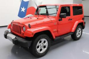 2013 Jeep Wrangler SAHARA 4X4 HARDTOP NAV LEATHER