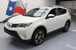 2015 Toyota RAV4 LIMITED SUNROOF NAV HTD LEATHER