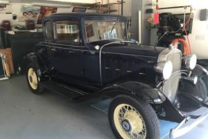1932 Chevrolet Confederate sport coupe