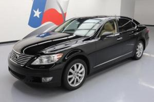 2010 Lexus LS AWD CLIMATE LEATHER SUNROOF NAV