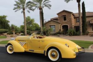 1936 Replica/Kit Makes Auburn Speedster 851