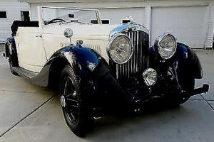 1937 Bentley Drop Head Coupe Photo